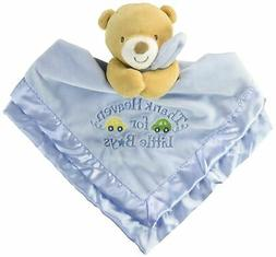"Baby Starters Snuggle Buddy with Blanket and Rattle""Thank He"