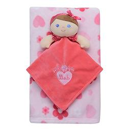 Baby Starters 2-Piece Snuggle Buddy and Blanket Set, Doll