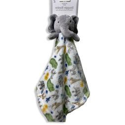 MODERN BABY Snuggle Plush Elephant Lovey Security Blanket GR
