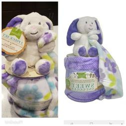 Little Miracles Snuggles Baby Security Blanket Bunny Lovie R