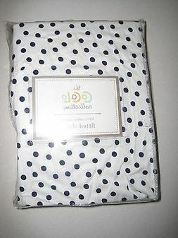 Luxe Basics So Softy Fitted Crib Sheet, White