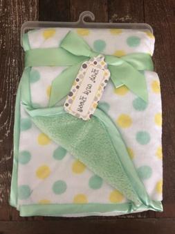 """Zak and Zoey Soft & Snuggly Baby Blanket 30"""" x 40"""" Unisex Po"""