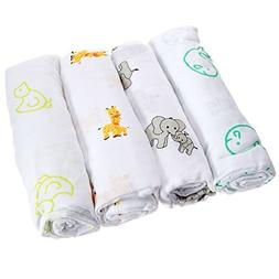 UR My Sunshine Muslin Swaddle Blankets, Soft Light Cotton, B