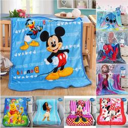 Disney Soft Flannel <font><b>Blanket</b></font> Throw 100x14