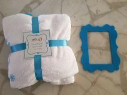 "Soft Fleece Baby Monthly Milestone Blanket Large 40x60"" plus"