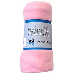 30x30 Inch Soft Fleece Swaddling Baby Blanket - Assorted Sty