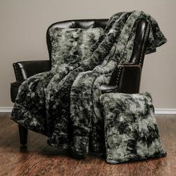 Chanasya Soft Luxurious Blanket 3-Piece Throw Blanket & Pill