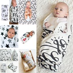 Soft Muslin Baby Wrap Swaddling Blanket Newborn Infant Swadd