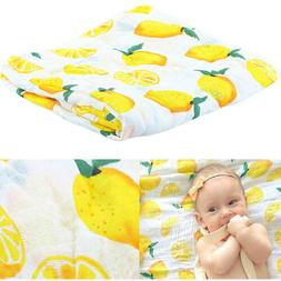 Soft Muslin Newborn Baby Wrap Swaddling Blanket Infant Swadd