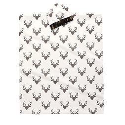 Soft Muslin Newborn Baby Deer Print Blanket Bedding Blanket