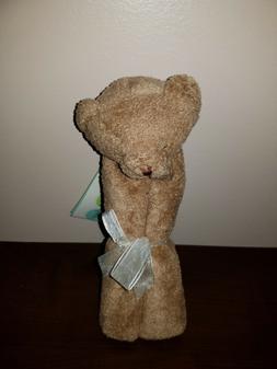 Angel Dear Soft Plush Brown Sleepy Teddy Bear Security Blank