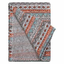 Trend Lab Soft Receiving Deluxe Sweatshirt Knit Baby Blanket
