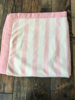 gymboree Soft Stripe Pink Baby Girl Blanket Nwt New Infant