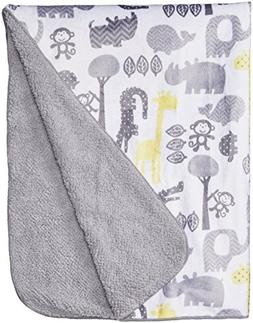 Circo® Soft Valboa Baby Blanket - Zigs n Zags