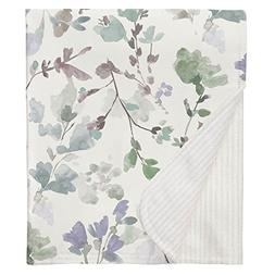 Carousel Designs Soft Wildflower Crib Blanket