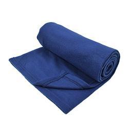 30 x 40 Inch Solid Color Soft Fleece Baby Blanket, Blue