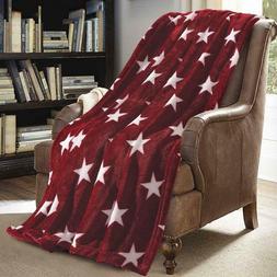 Soft Versatile Throw Lightweight Travel Micro Plush Blanket