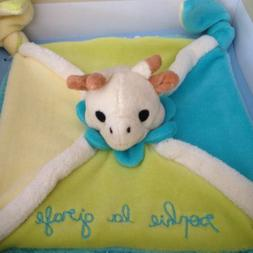 Sophie La Girafe Security Blanket Giraffe Vulli Baby Toy Kno