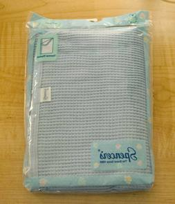 """Spencer's Thermal Baby Blanket, 30""""x40"""", Blue, New"""