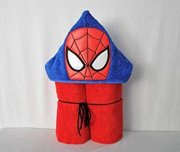 Spider Web Hero Hooded Bath Towel - Baby, Child, Tween