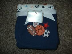 Koala Baby Sports Receiving Blanket 2pk Thermal Waffle Weave