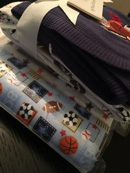 Koala Baby Sports Receiving Blankets 4pk Set Sports Boys NWT