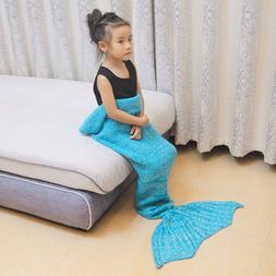 Spring Bedding Sofa Mermaid <font><b>Blanket</b></font> Wool