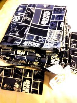 Star Wars flannel baby blanket & pillow case