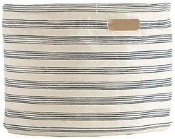 Pehr Stripe Medium Drum, Navy