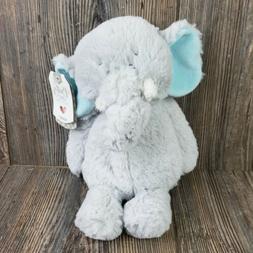 """Baby Ganz Stuffed Plush Elephant Lovey 11"""" NWT"""