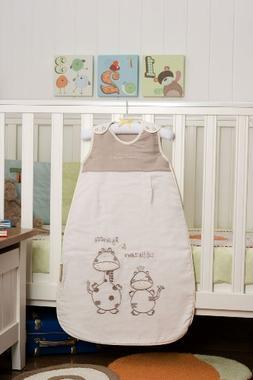 Slumbersafe Summer Baby Sleeping Bag 1 Tog - Cartoon Animal,