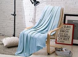 SUPER COZY 100% Bamboo Fiber Throw Blanket / Children Blanke
