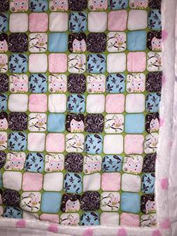 """Super Cute Owl Print Blanket Baby Blanket Kids Blanket 39""""x4"""
