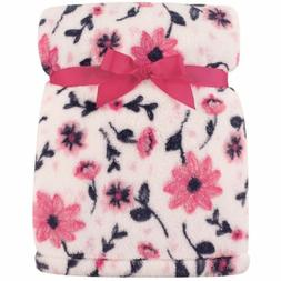 super plush blanket floral
