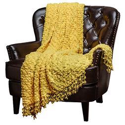 Chanasya Super Soft Beautiful Elegant Decorative Woven Popco