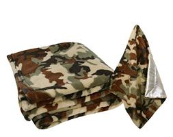 Stephan Baby Super-Soft Fleece Crib Blanket and Security Bla