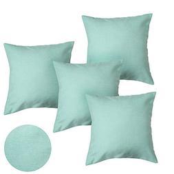 Deconovo Super Soft Melange Fabric Pillow Cushion Covers Thr