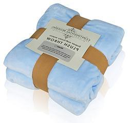 Premium Quality Super Soft Plush Throw Blanket, Warm and Fuz