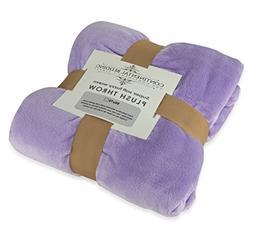 super soft plush throw blanket