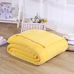 Super Soft Velvet Plush Throw, Fleece Flannel Home Couch Bab
