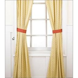 Surie Drapes - 2 Panels with Tiebacks - 84 in x 42 in