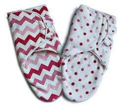 Bisdis Swaddle Blanket - Super Soft Easy Adjustable Infant W