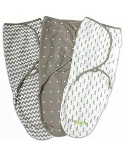Swaddle Blanket, Adjustable Infant Baby Wrap Set by Ziggy Ba