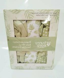 Swaddle Blanket Muslin Organic Bamboo For Baby, 3 pack Swadd
