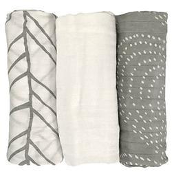 LIFESTYLE BAMBOO Bamboo Swaddle Blankets - 100% Bamboo Musli