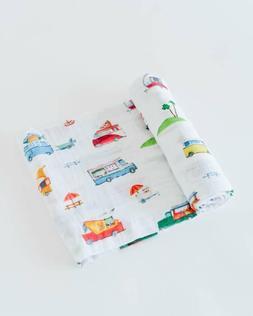 Little Unicorn Swaddle Cotton Muslin Baby Blanket Food Truck