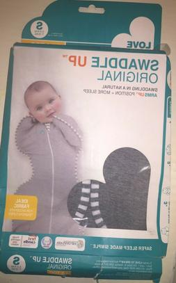 Love To Dream Swaddle UP Original 1.0 TOG, Gray, Small, 7-13