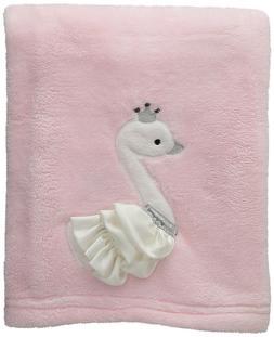Lambs & Ivy Swan Lake Blanket