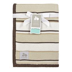 sweater knit blanket stripes