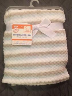 swiggles baby blue white gray stripe lovey
